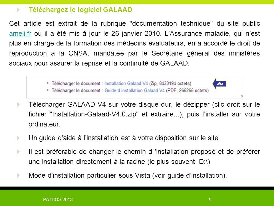 Téléchargez le logiciel GALAAD