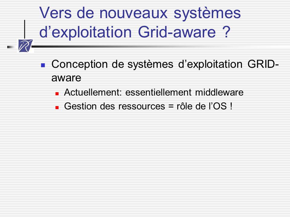 Vers de nouveaux systèmes d'exploitation Grid-aware