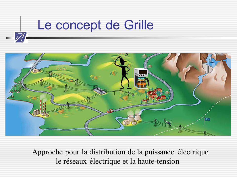 Le concept de Grille Approche pour la distribution de la puissance électrique.