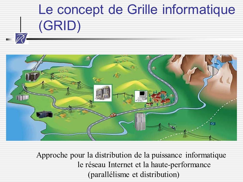 Le concept de Grille informatique (GRID)