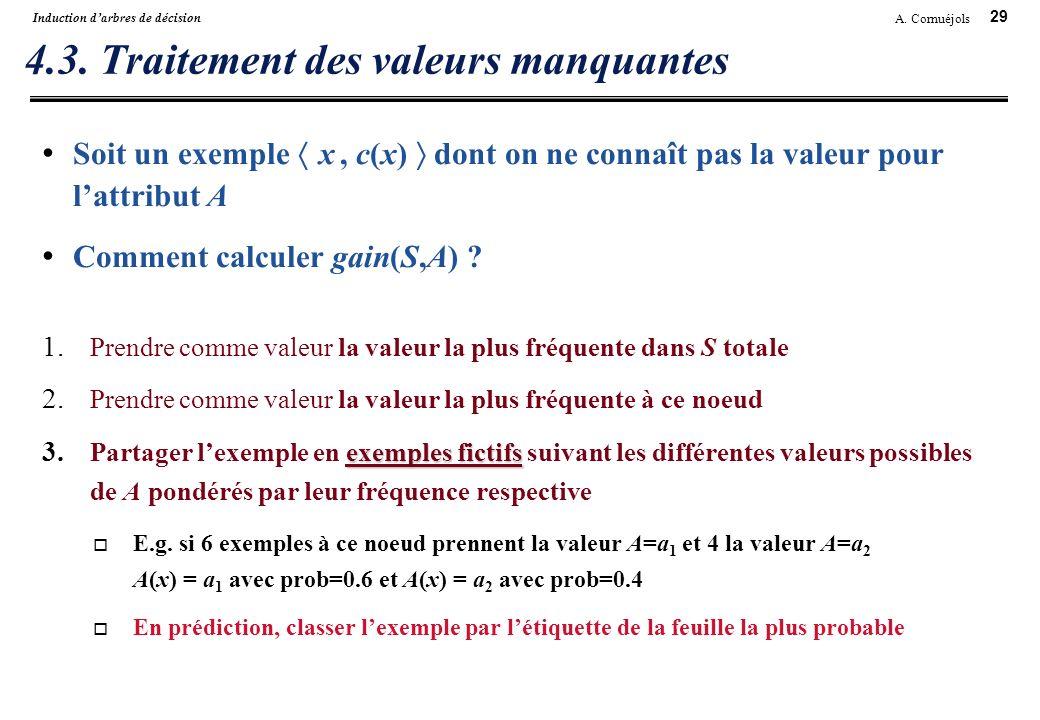 4.3. Traitement des valeurs manquantes