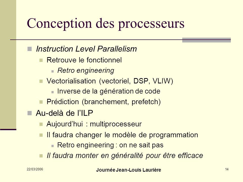 Conception des processeurs