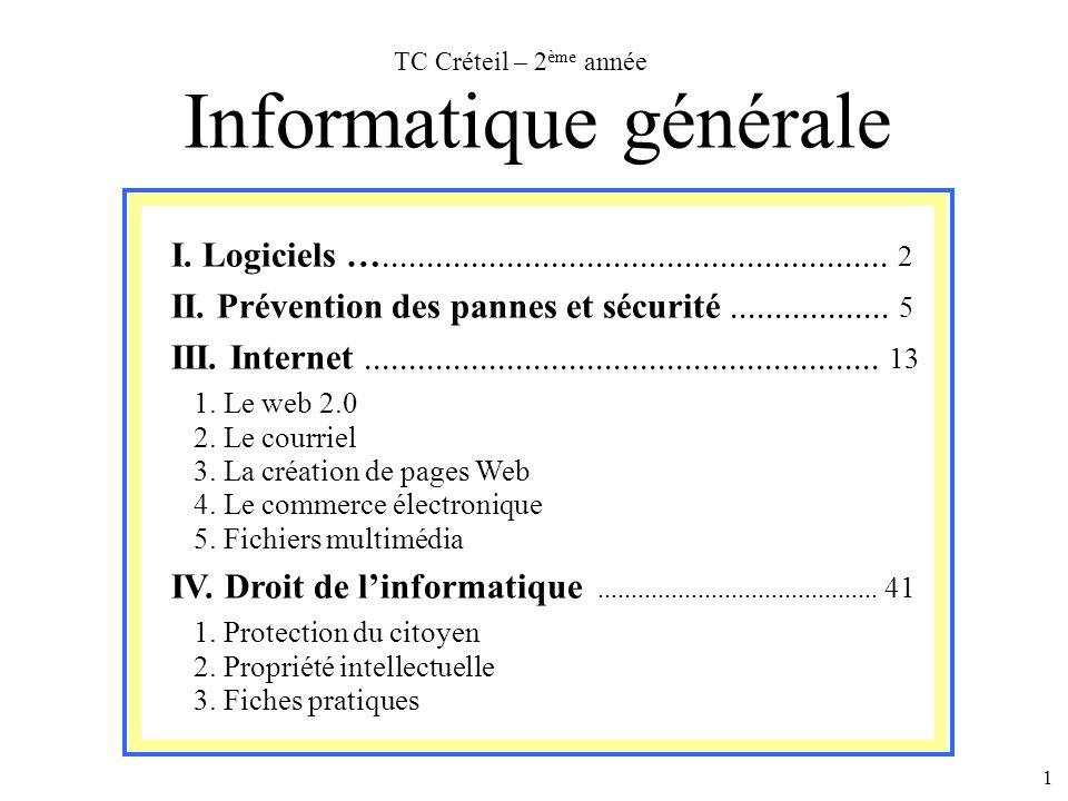 Informatique générale