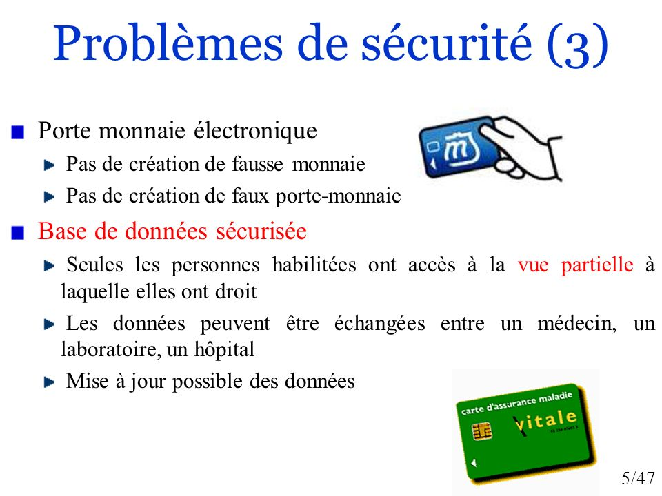 Problèmes de sécurité (3)