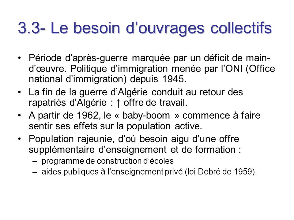 3.3- Le besoin d'ouvrages collectifs