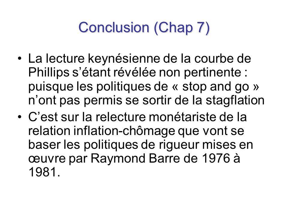 Conclusion (Chap 7)