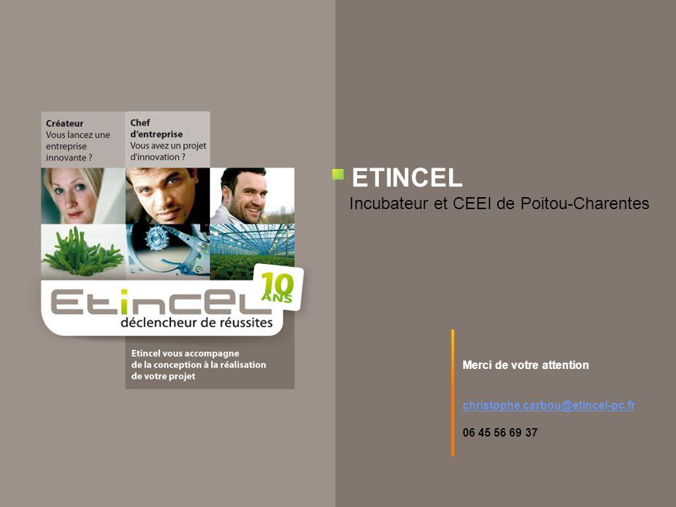 ETINCEL Incubateur et CEEI de Poitou-Charentes
