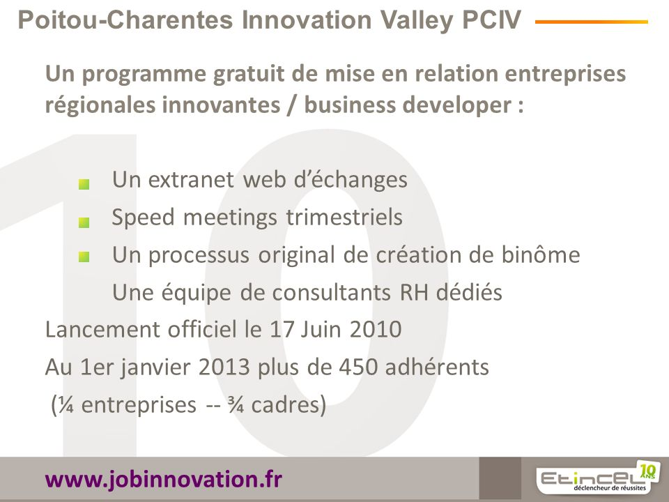 Poitou-Charentes Innovation Valley PCIV