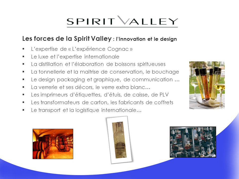 Les forces de la Spirit Valley : l'Innovation et le design