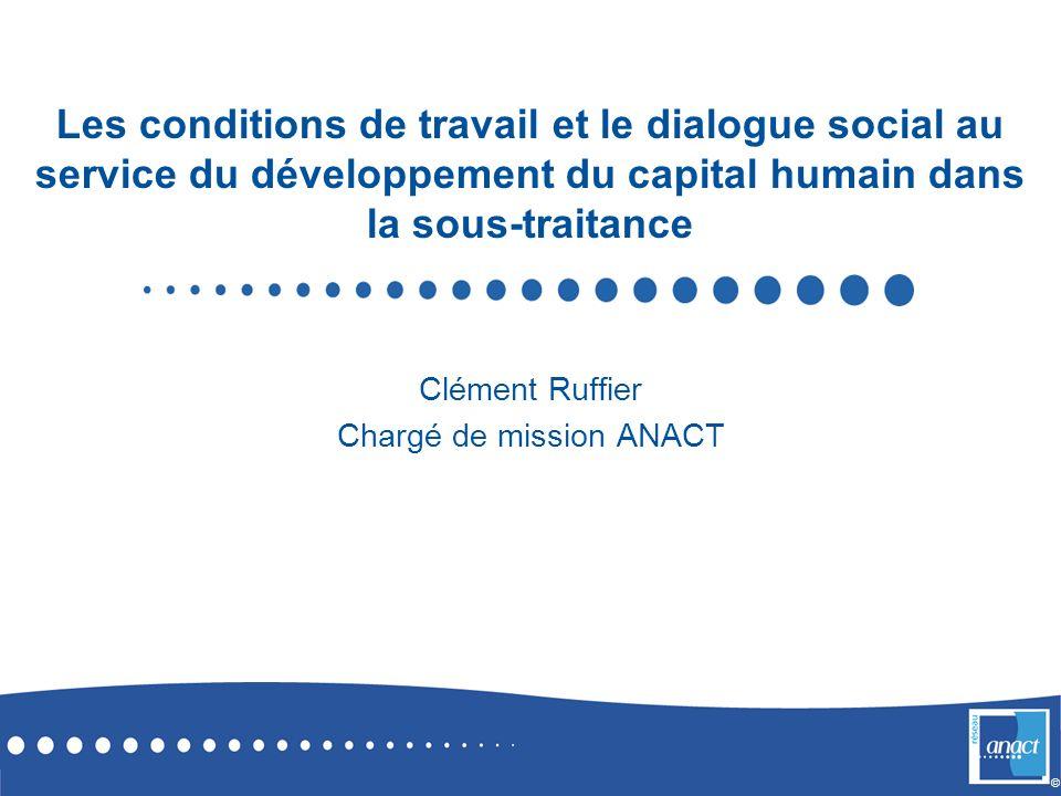 Clément Ruffier Chargé de mission ANACT