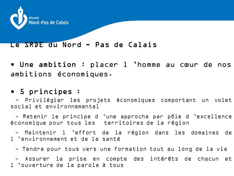 Le SRDE du Nord - Pas de Calais
