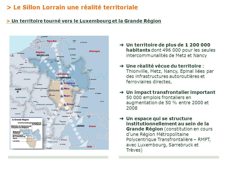 > Le Sillon Lorrain une réalité territoriale