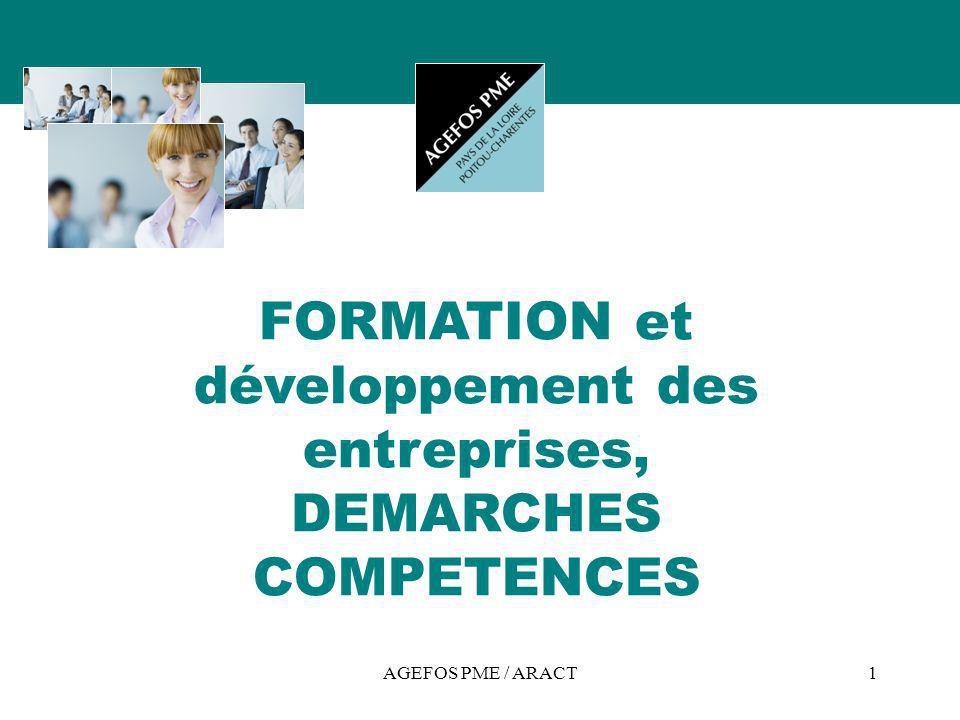 FORMATION et développement des entreprises, DEMARCHES COMPETENCES