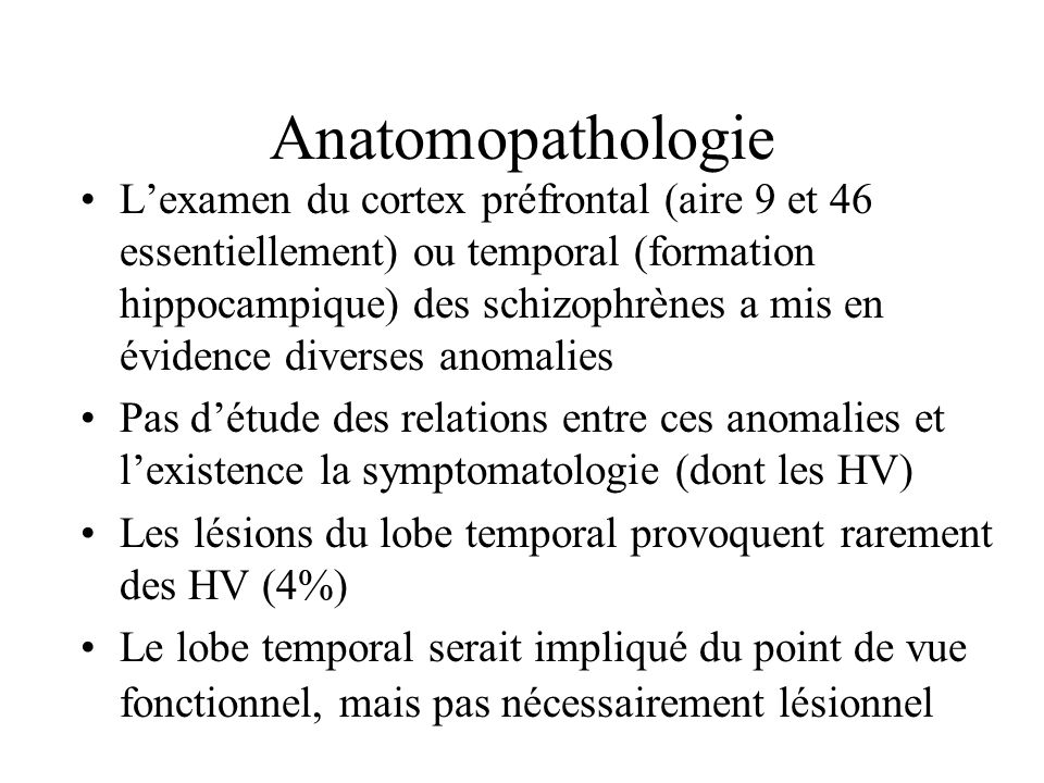 Anatomopathologie