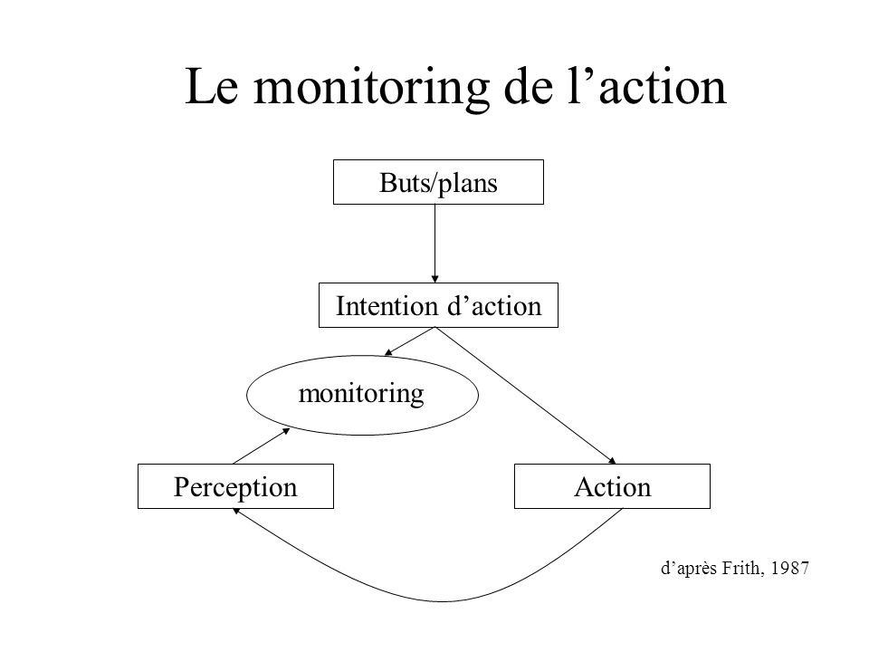 Le monitoring de l'action