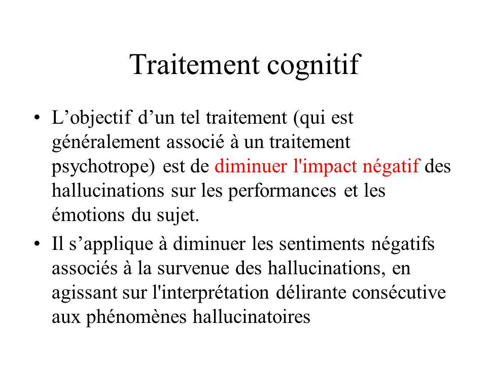 Traitement cognitif