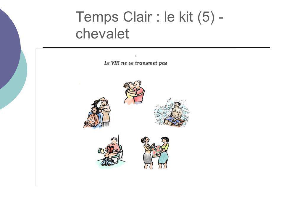 Temps Clair : le kit (5) - chevalet