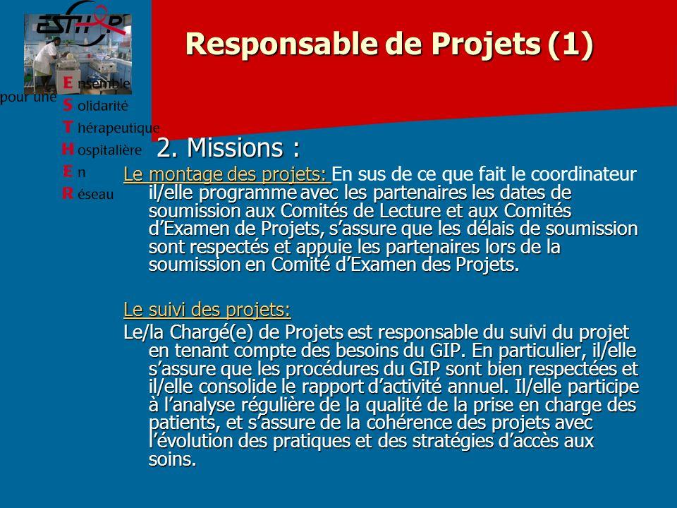 Responsable de Projets (1)