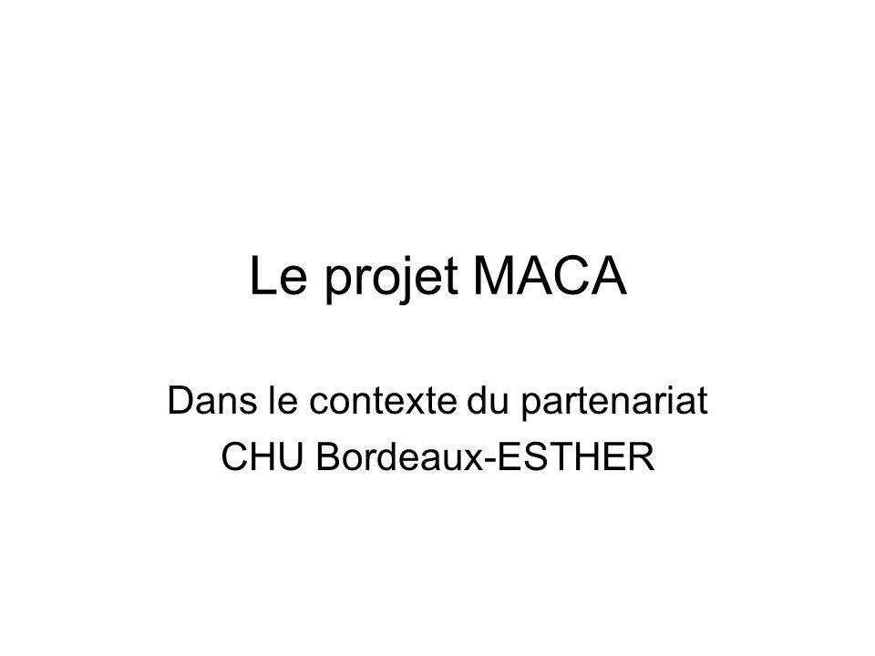 Dans le contexte du partenariat CHU Bordeaux-ESTHER