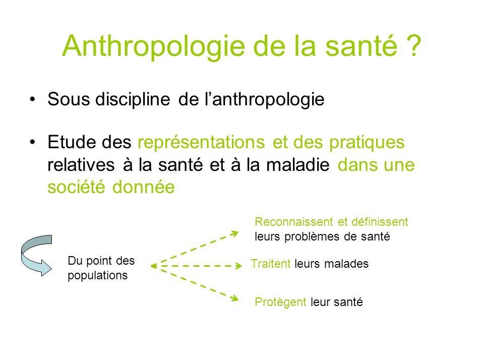 Anthropologie de la santé
