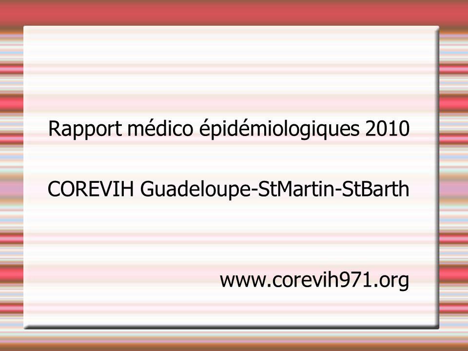 Rapport médico épidémiologiques 2010