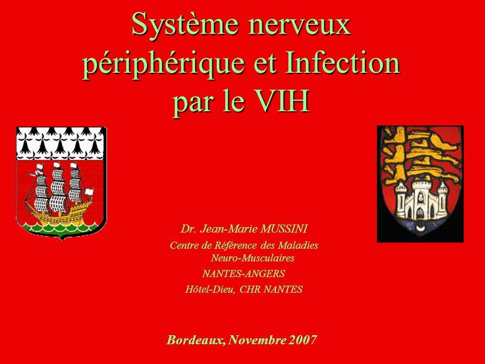 Système nerveux périphérique et Infection par le VIH