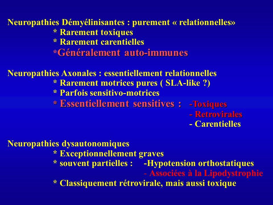 Neuropathies Démyélinisantes : purement « relationnelles»