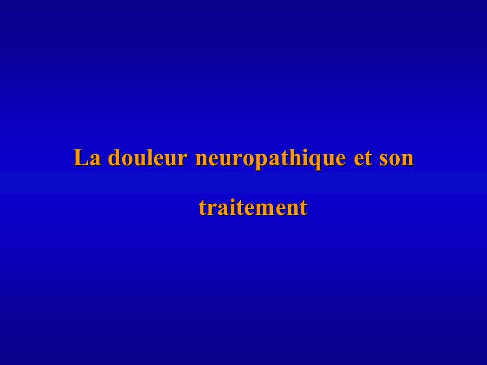 La douleur neuropathique et son traitement