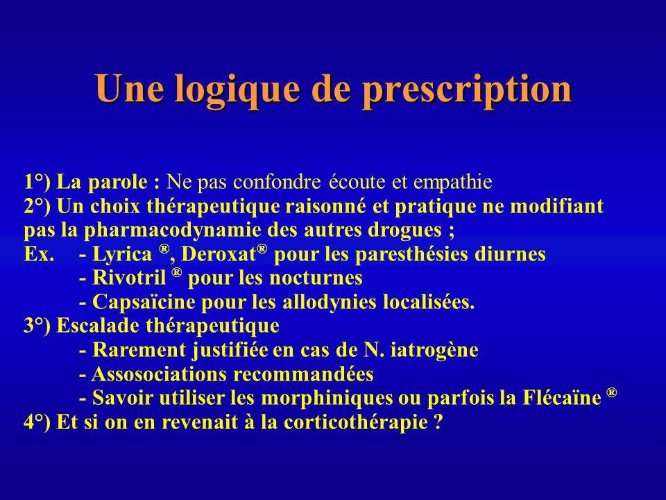 Une logique de prescription