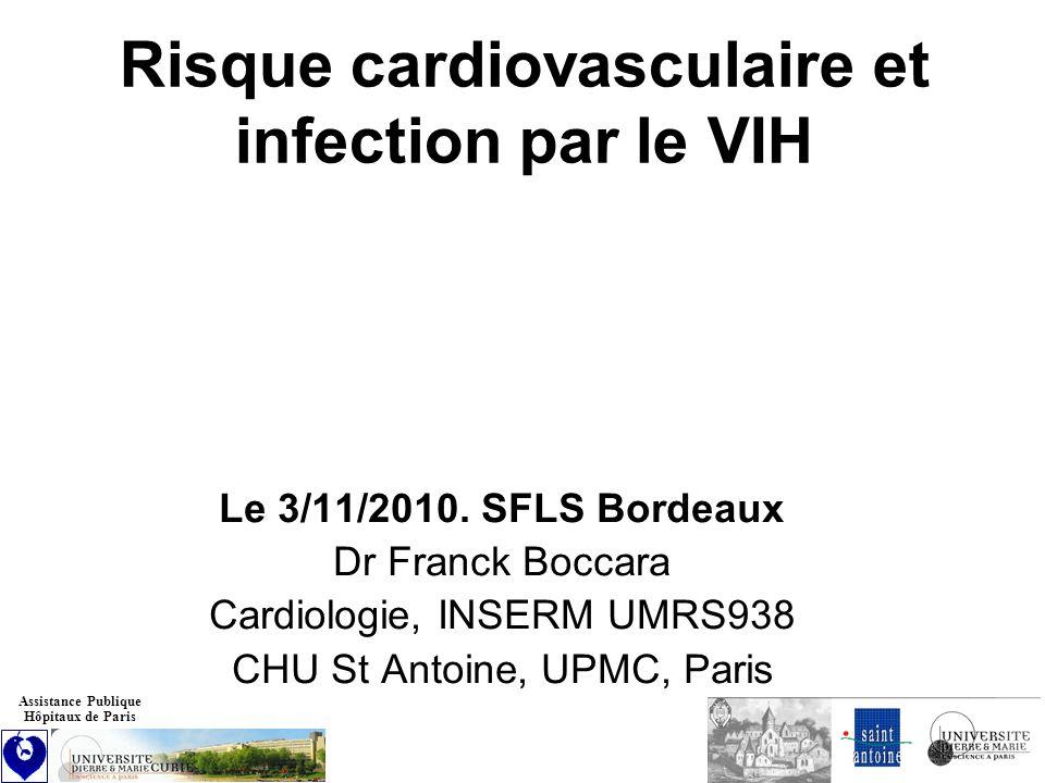 Risque cardiovasculaire et infection par le VIH