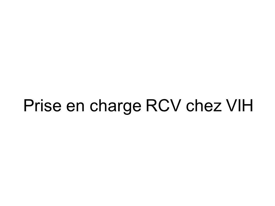 Prise en charge RCV chez VIH