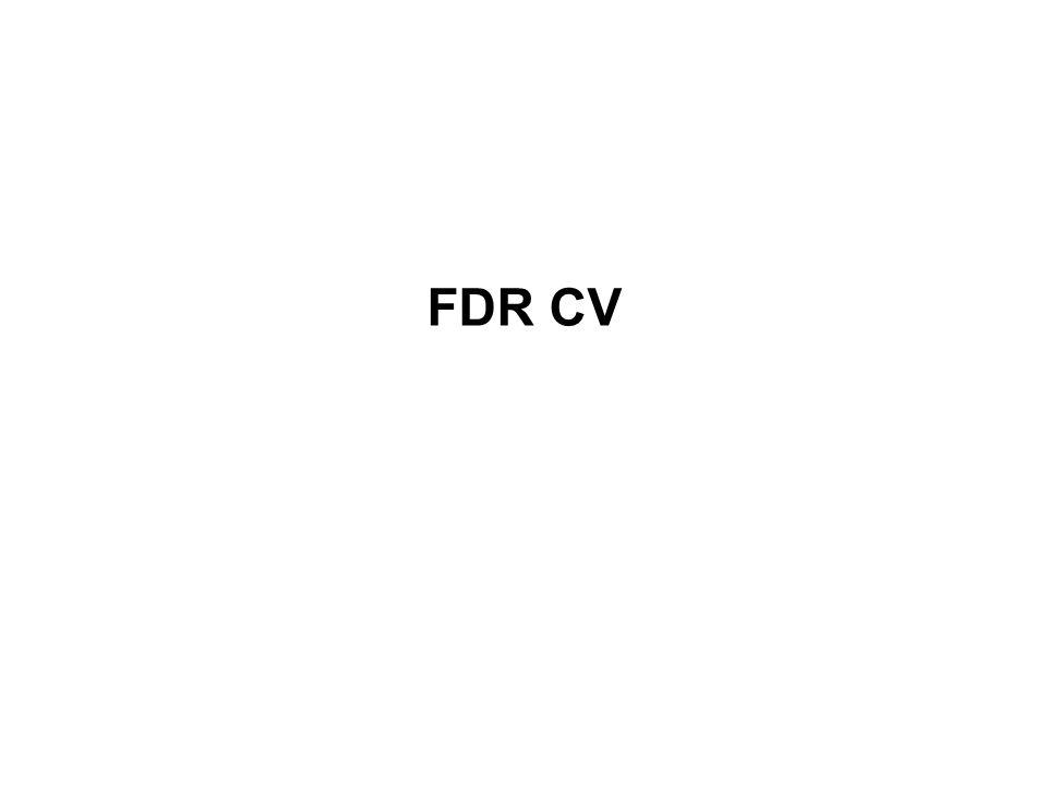 FDR CV