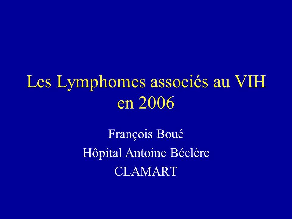 Les Lymphomes associés au VIH en 2006