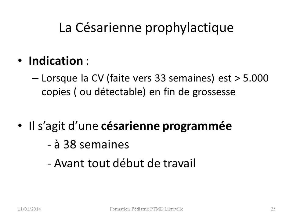 La Césarienne prophylactique
