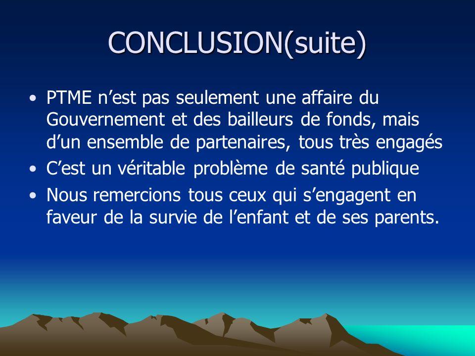 CONCLUSION(suite)