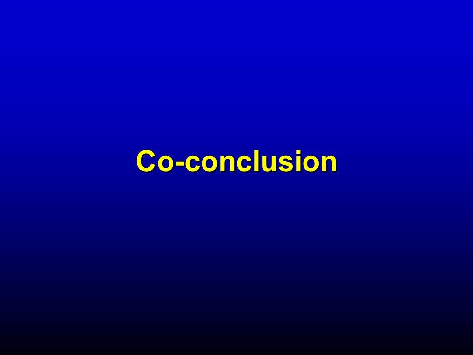 Co-conclusion