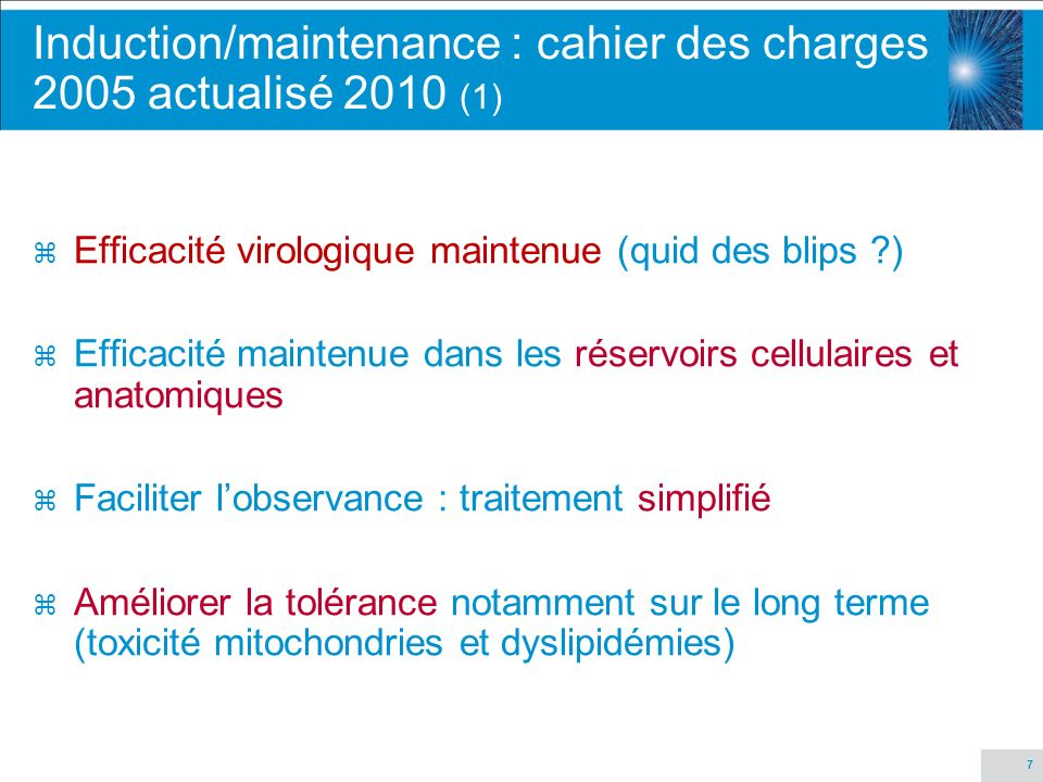 Induction/maintenance : cahier des charges 2005 actualisé 2010 (1)