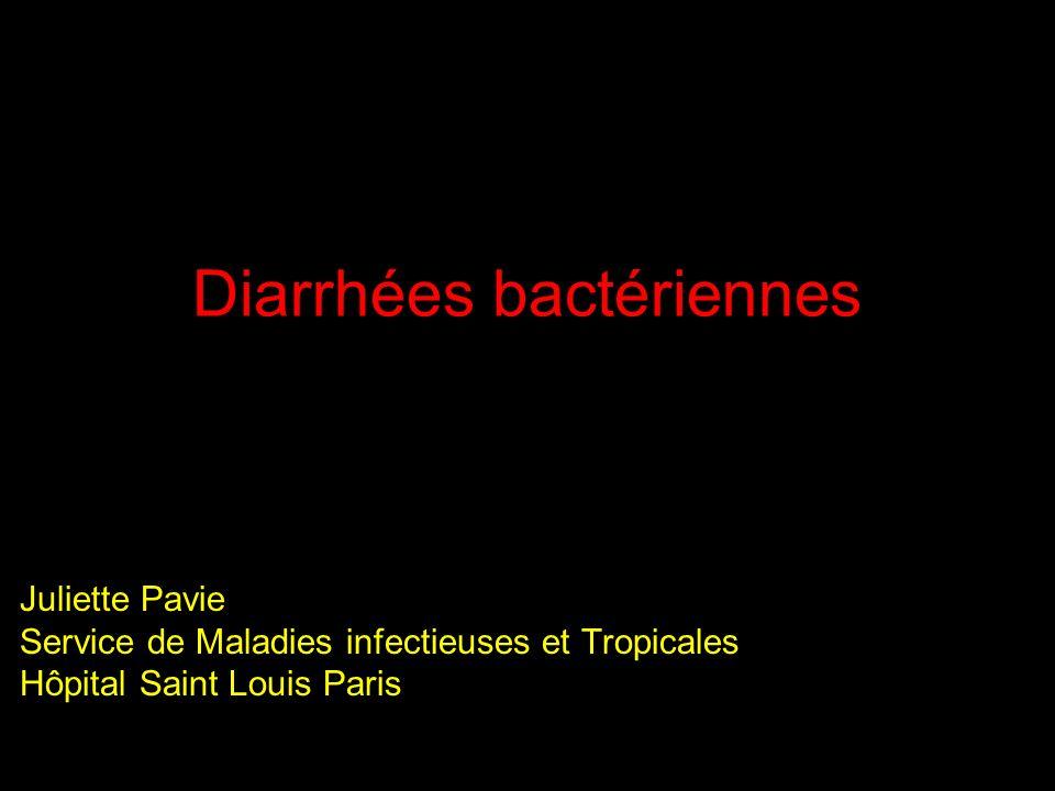 Diarrhées bactériennes