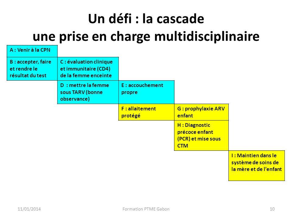 Un défi : la cascade une prise en charge multidisciplinaire