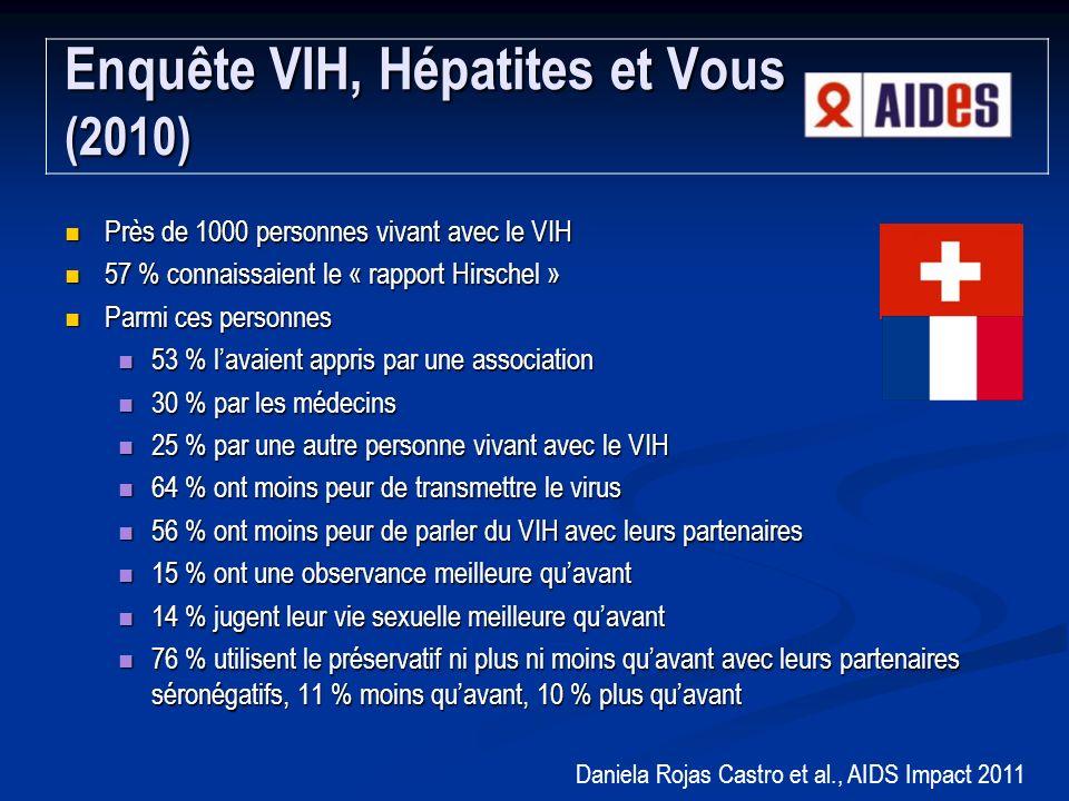 Enquête VIH, Hépatites et Vous (2010)