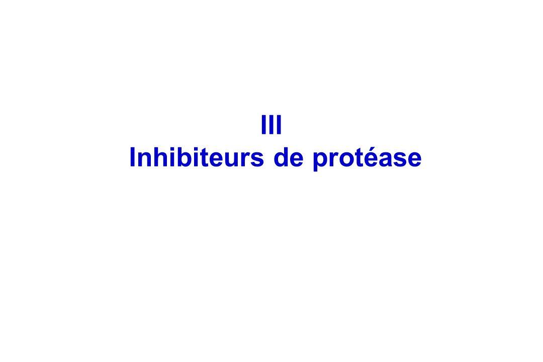 Inhibiteurs de protéase