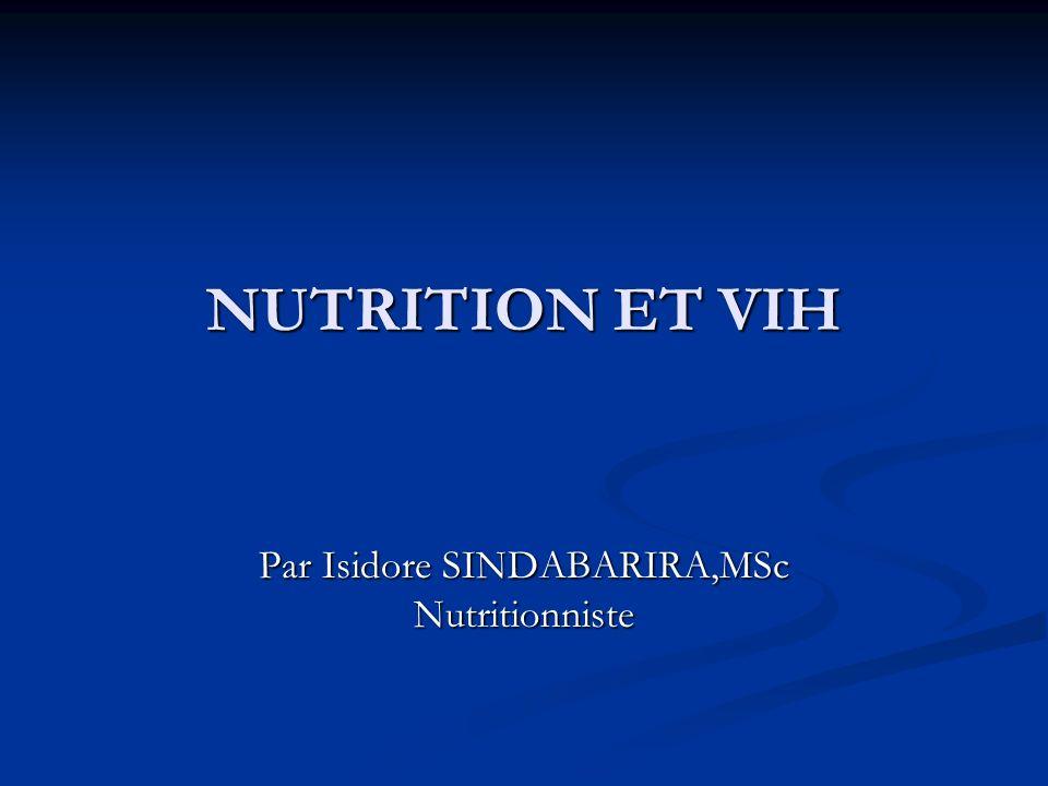 Par Isidore SINDABARIRA,MSc Nutritionniste