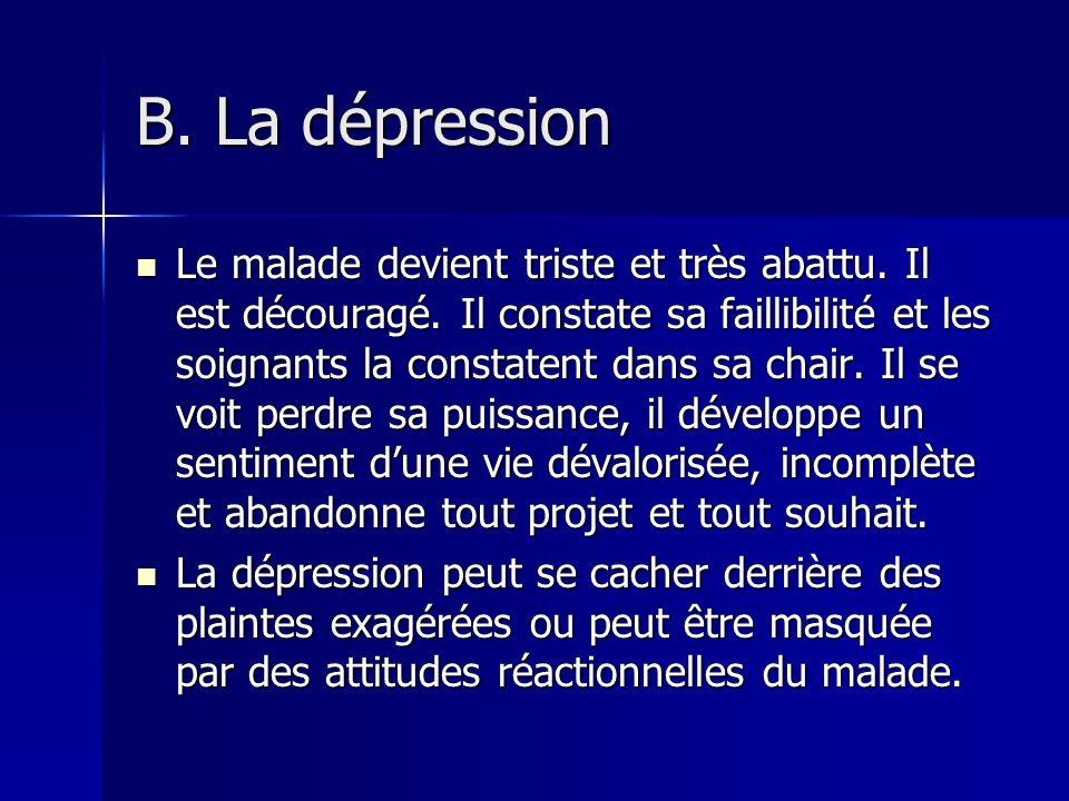 B. La dépression