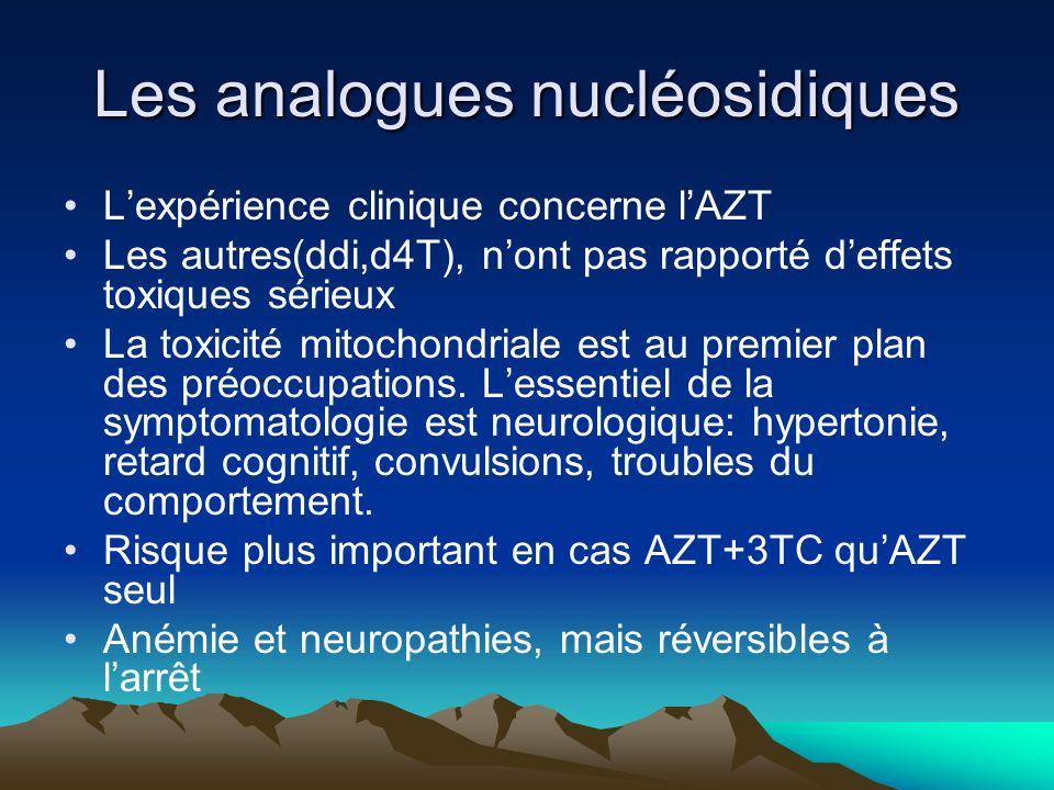 Les analogues nucléosidiques