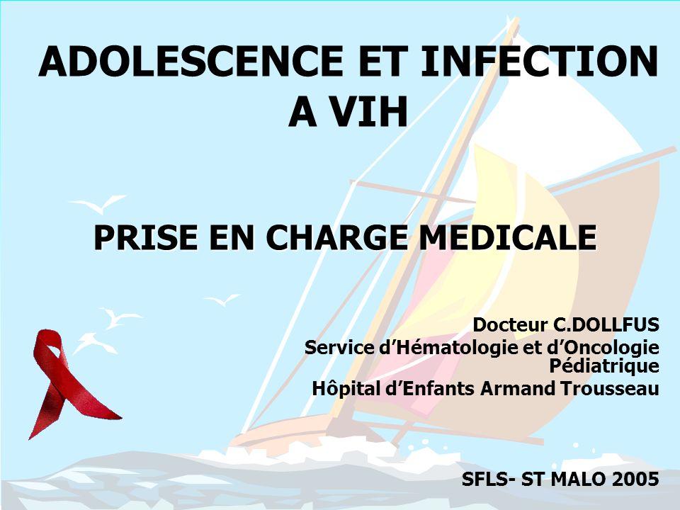 ADOLESCENCE ET INFECTION A VIH