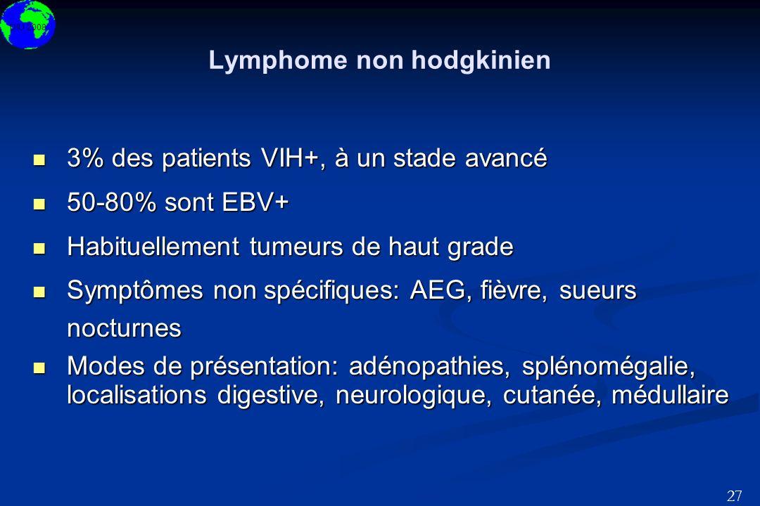 Lymphome non hodgkinien