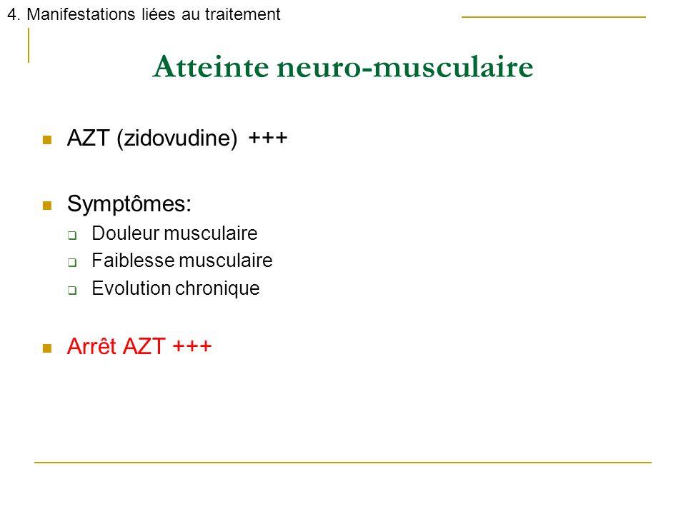 Atteinte neuro-musculaire