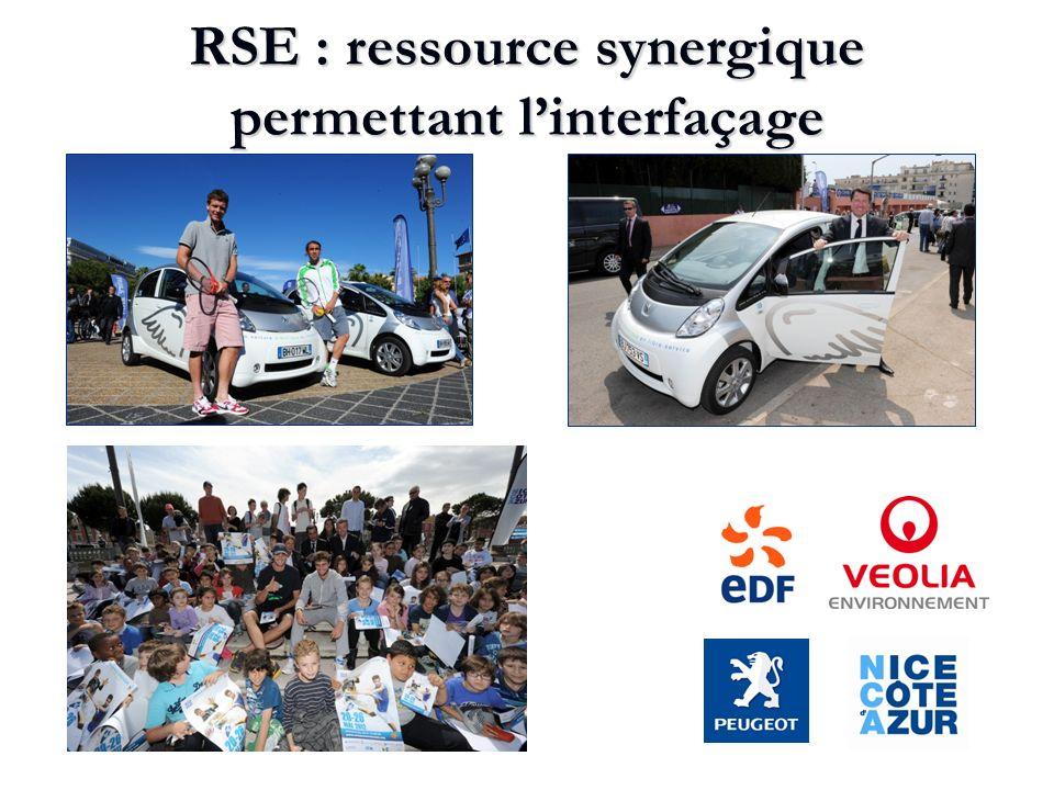 RSE : ressource synergique permettant l'interfaçage