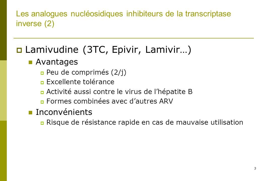 Lamivudine (3TC, Epivir, Lamivir…)