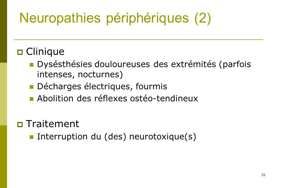 Neuropathies périphériques (2)